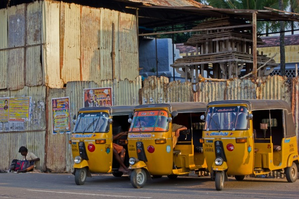 Tuk-Tuks at the ready