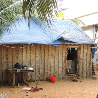 A tarpaulin can make a difference